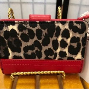 NWT Small Coach Animal Print Wallet